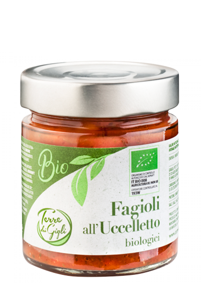 Fagioli all'Uccelletto Biologici 200 gr
