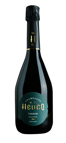 """Fossile"" Champagne MG Heucq Brut"